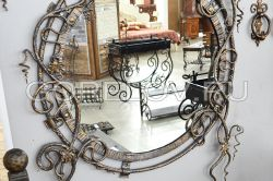"Round Mirror ""Vine"" L-960 h-1180 d-750 (Approximate sizes)"