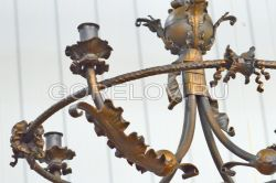 "Chandelier ""Classic"" New  h-550 (Height without suspension) d-620 (Dimensions  approximate)"