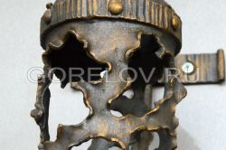 "Sconce ""Ragged Metal"" 2 L-160 h-520 Z-300 (Approximate sizes)"