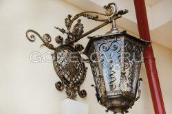 "Sconce ""Old Town"" with a monogram"