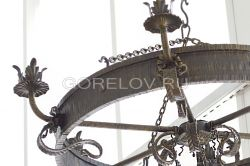 chandelier hoop (6 elements) h-250 (Height without suspension) d-800 (Approximate sizes)
